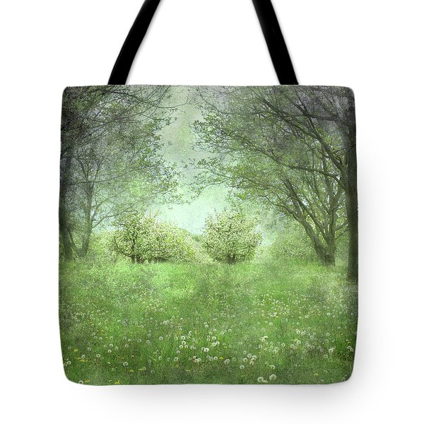 Let's Wed Here Tote Bag by Kathi Mirto