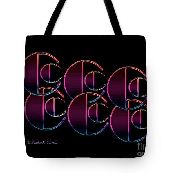 Letter Art L5 - Cs Tote Bag