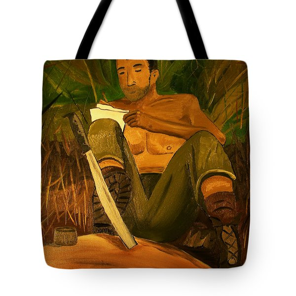 Letter Home Tote Bag