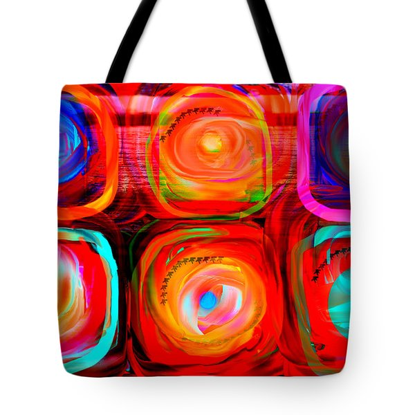 Letter To Kandinsky  Tote Bag by Danica Radman