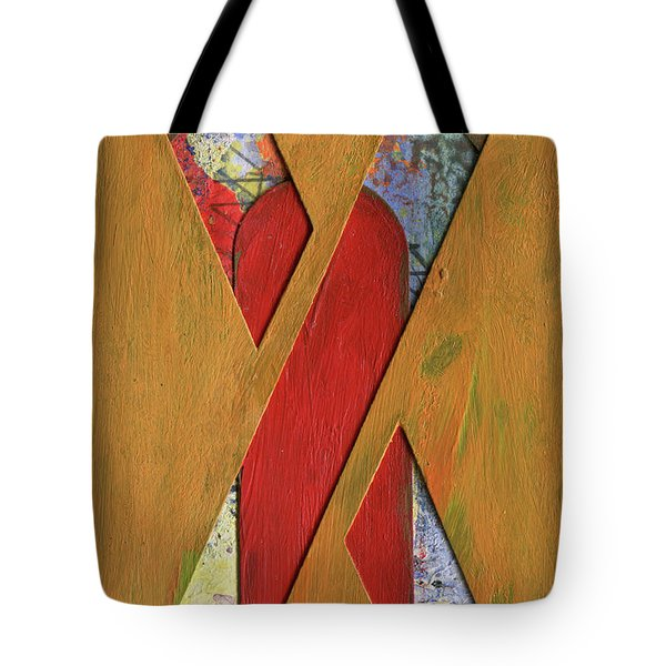 Letter X Tote Bag