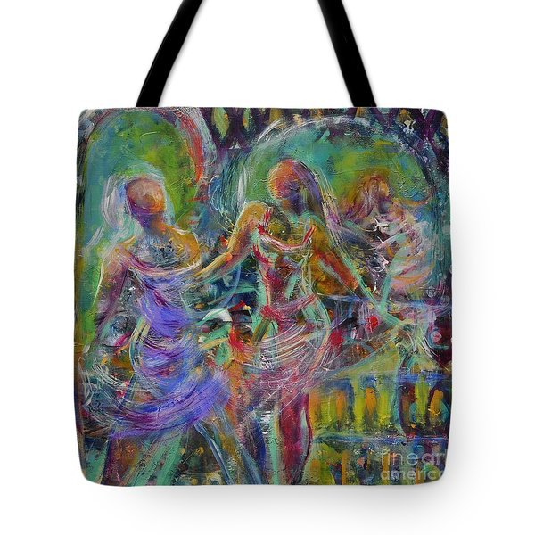 Letting Go Tote Bag by Gail Butters Cohen
