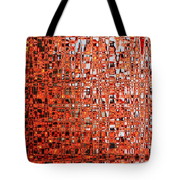 Letting In Light Tote Bag by Carol Groenen