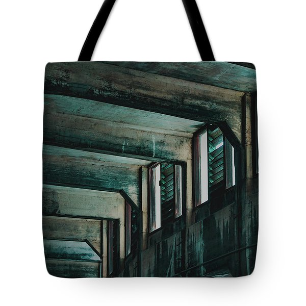 Letting In The Light Tote Bag
