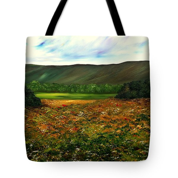 Letting Life Open Up Tote Bag