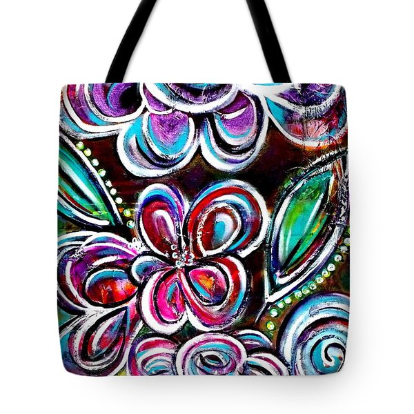 Letting Loose Tote Bag by Julie  Hoyle