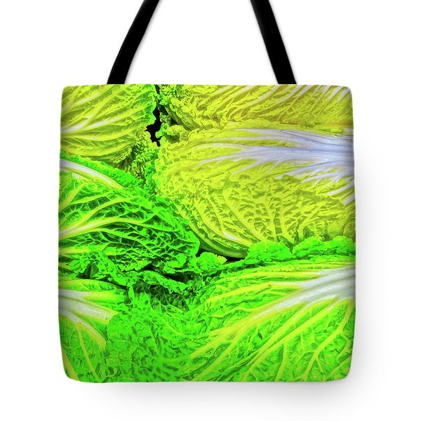Lettuce 5 Tote Bag by Bruce Iorio