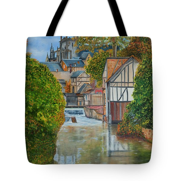 L'eure A Louviers -  France Tote Bag