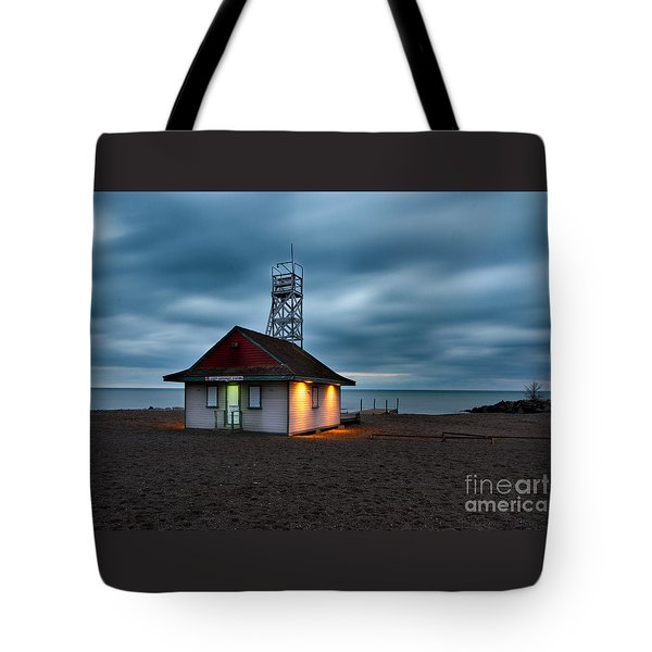 Leuty Life Saving Station Tote Bag