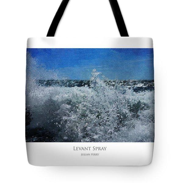 Levant Spray Tote Bag