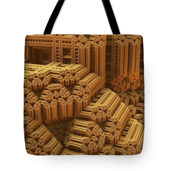Level And Plumb Tote Bag by Lyle Hatch