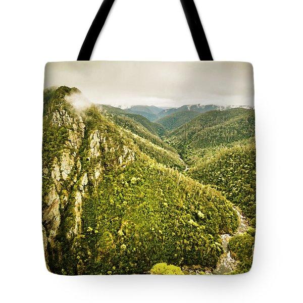Leven Canyon Reserve Tasmania Tote Bag