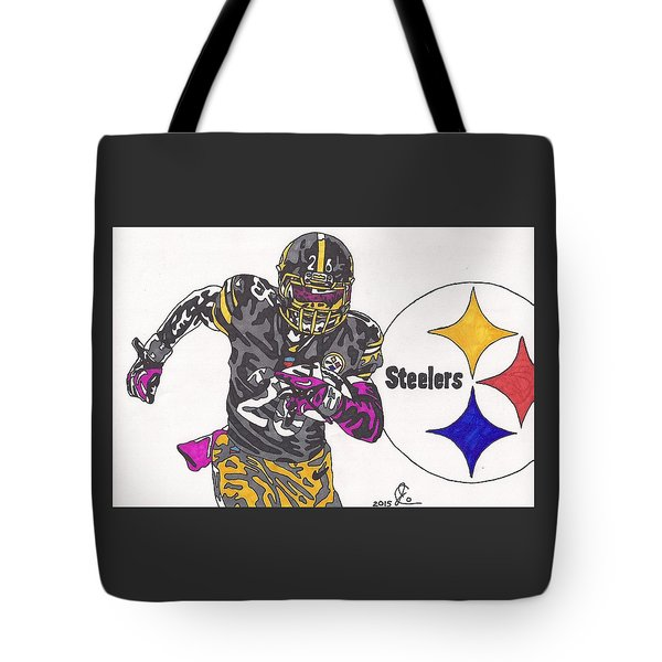 Le'veon Bell 2 Tote Bag by Jeremiah Colley
