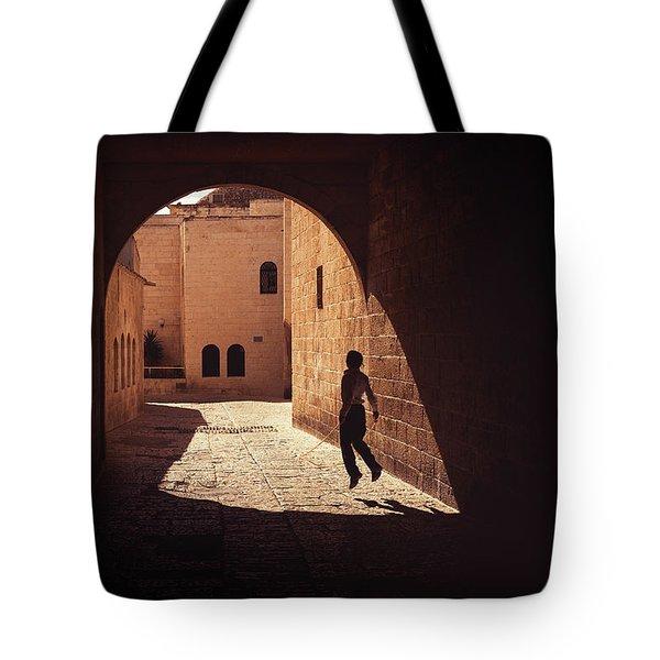 Levitate Tote Bag