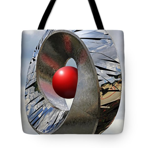 Tote Bag featuring the photograph Levitation Hybrid by Christopher McKenzie