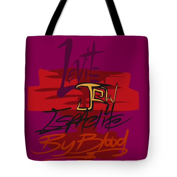 Levite By Blood Tote Bag