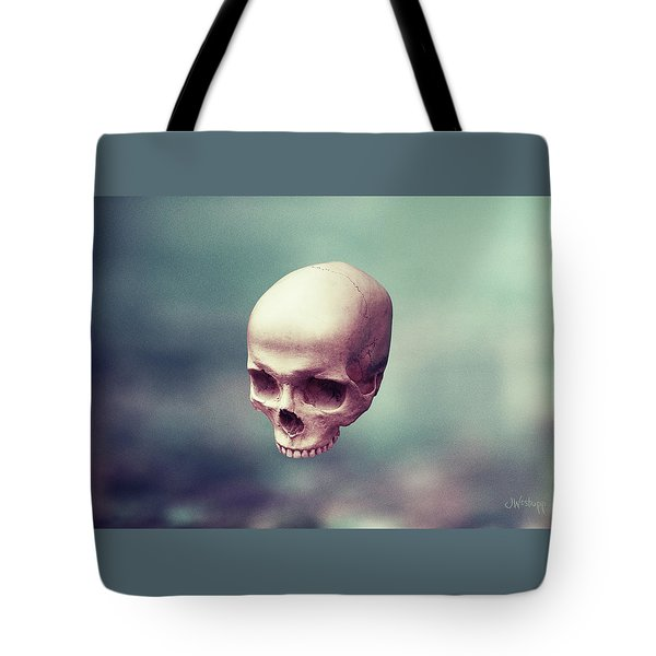 Tote Bag featuring the digital art Levity by Joseph Westrupp