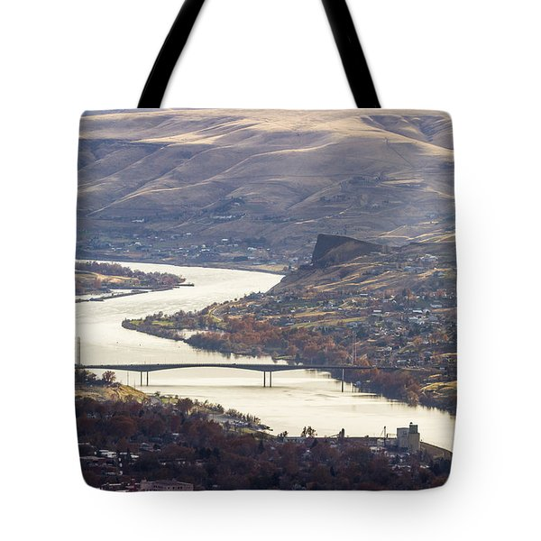 Lewis Clark Valley Tote Bag by Brad Stinson