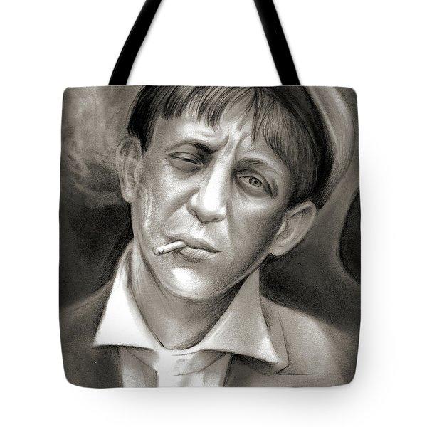 Lewis Hine Tribute Tote Bag
