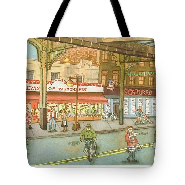 Lewis Of Woodhaven Tote Bag