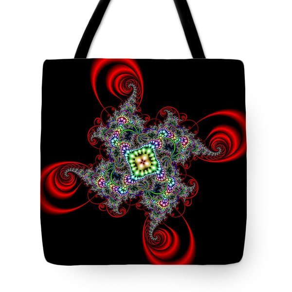 Tote Bag featuring the digital art Lexposells by Andrew Kotlinski