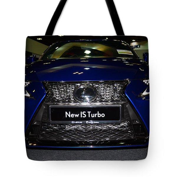 Lexus Is Turbo Tote Bag
