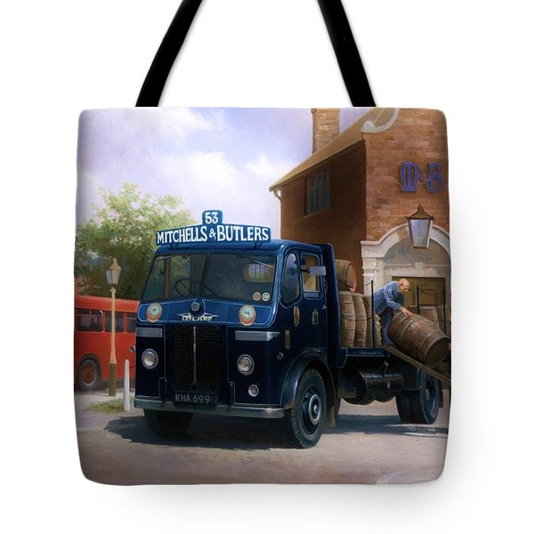 Leyland Dray. Tote Bag by Mike  Jeffries