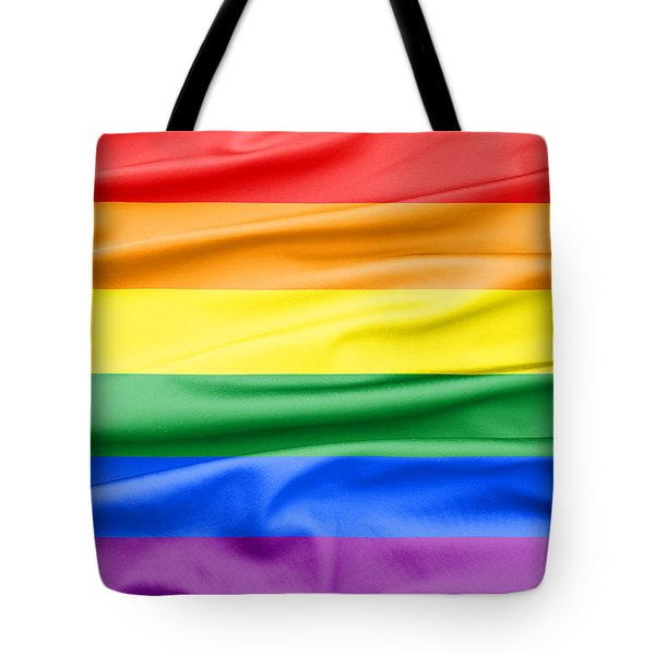 Lgbt Rainbow Flag Tote Bag