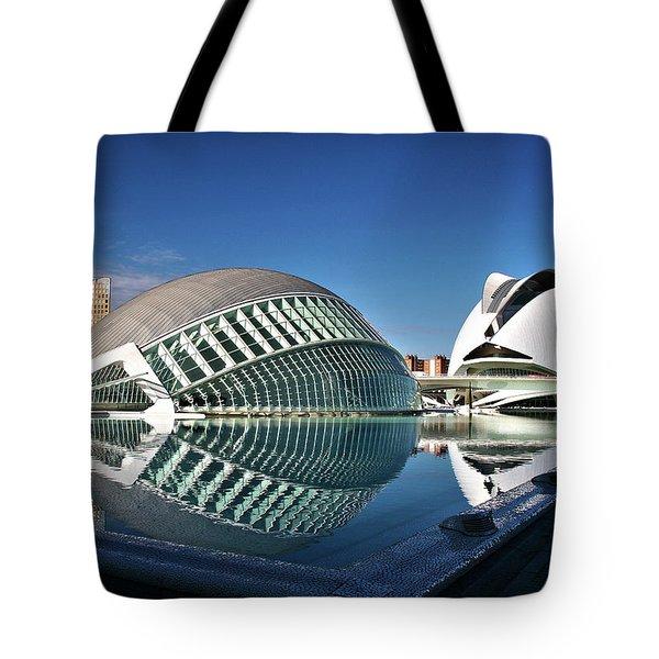 Valencia, Spain - City Of Arts And Sciences Tote Bag
