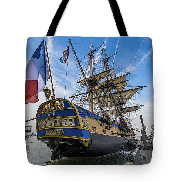 Lhermione Tote Bag