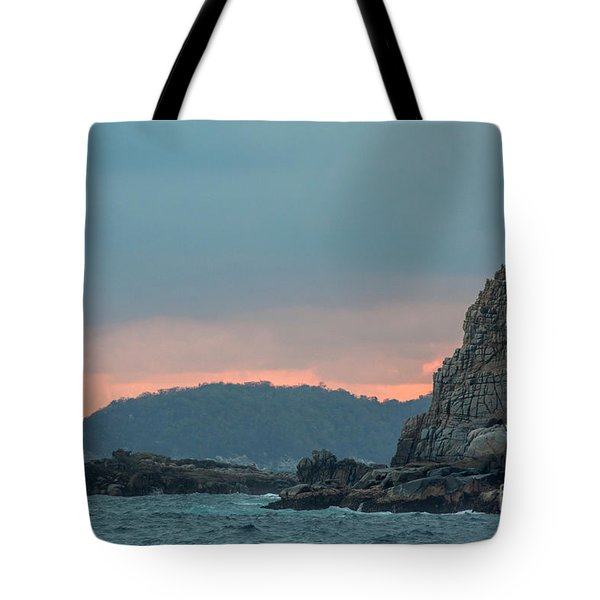 Tote Bag featuring the photograph L'heure Bleue, by Ana Mireles