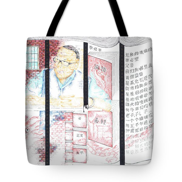 Li Bifeng-invisible Walls, Whose Walls? Tote Bag