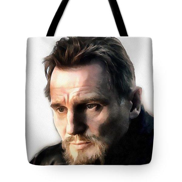 Liam Neeson Tote Bag