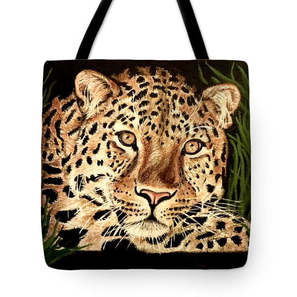 Tote Bag featuring the painting Liam by Teresa Wing