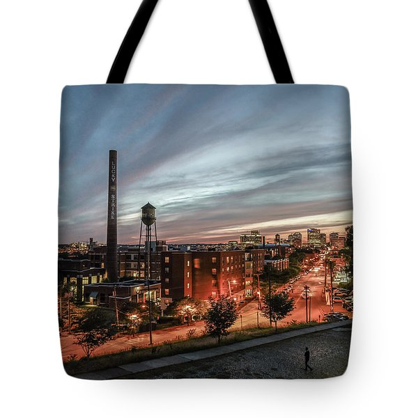 Libby Hill Post Sunset Tote Bag