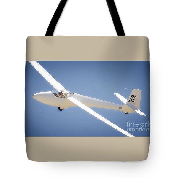 Libelle Sailplane Soaring Tote Bag