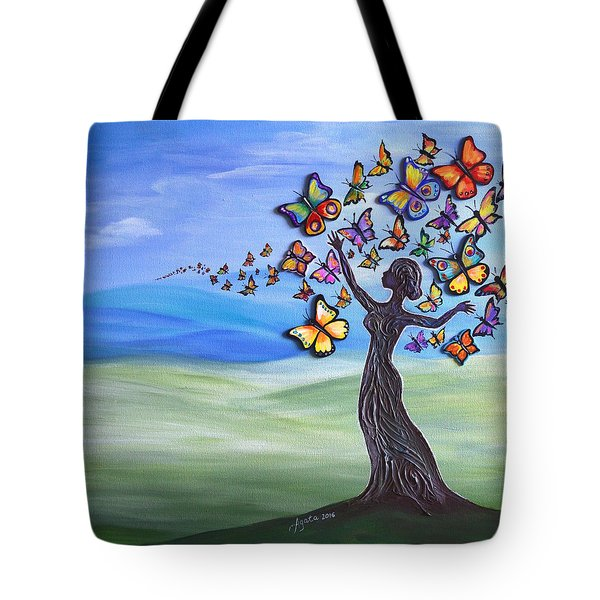 Liberation Of Inner Beauty Tote Bag