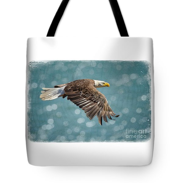 Liberty Tote Bag by Alice Cahill