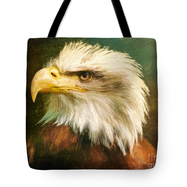 Liberty And Justice Tote Bag by Tina LeCour