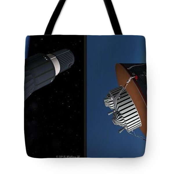 Liberty Bell 7 - Gently Cross Your Eyes And Focus On The Middle Image Tote Bag by Brian Wallace