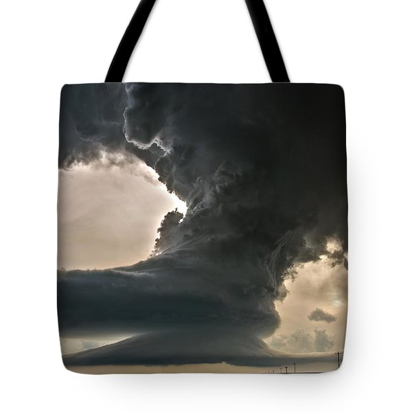Liberty Bell Supercell Tote Bag by James Menzies