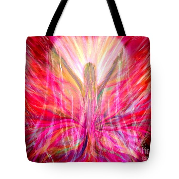 Liberty In My Heart Tote Bag