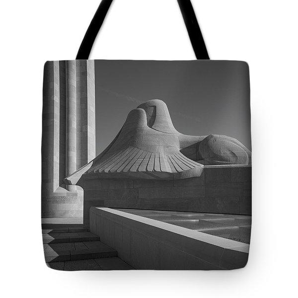 Liberty Memorial Kansas City Missouri Tote Bag by Don Spenner