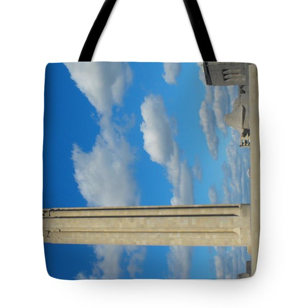 Liberty Memorial On A Perfect Day Tote Bag