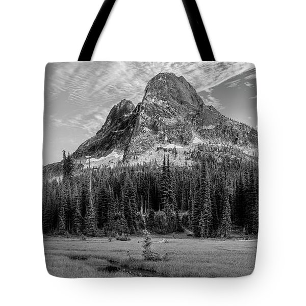 Liberty Mountain At Sunset Tote Bag by Jon Glaser