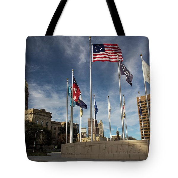 Liberty Plaza Tote Bag
