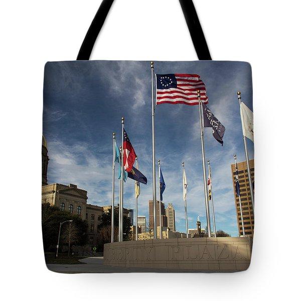 Liberty Plaza Tote Bag