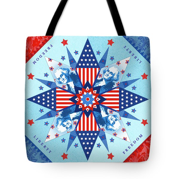 Liberty Quilt Tote Bag