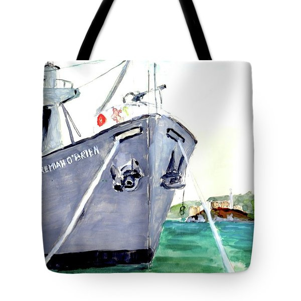 Liberty Ship S S Jeremiah O'brien Tote Bag