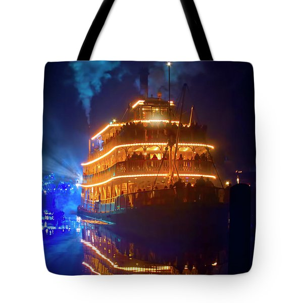 Tote Bag featuring the photograph Liberty Square Riverboat by Mark Andrew Thomas